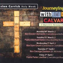Mission Carrick Holy Week 2015