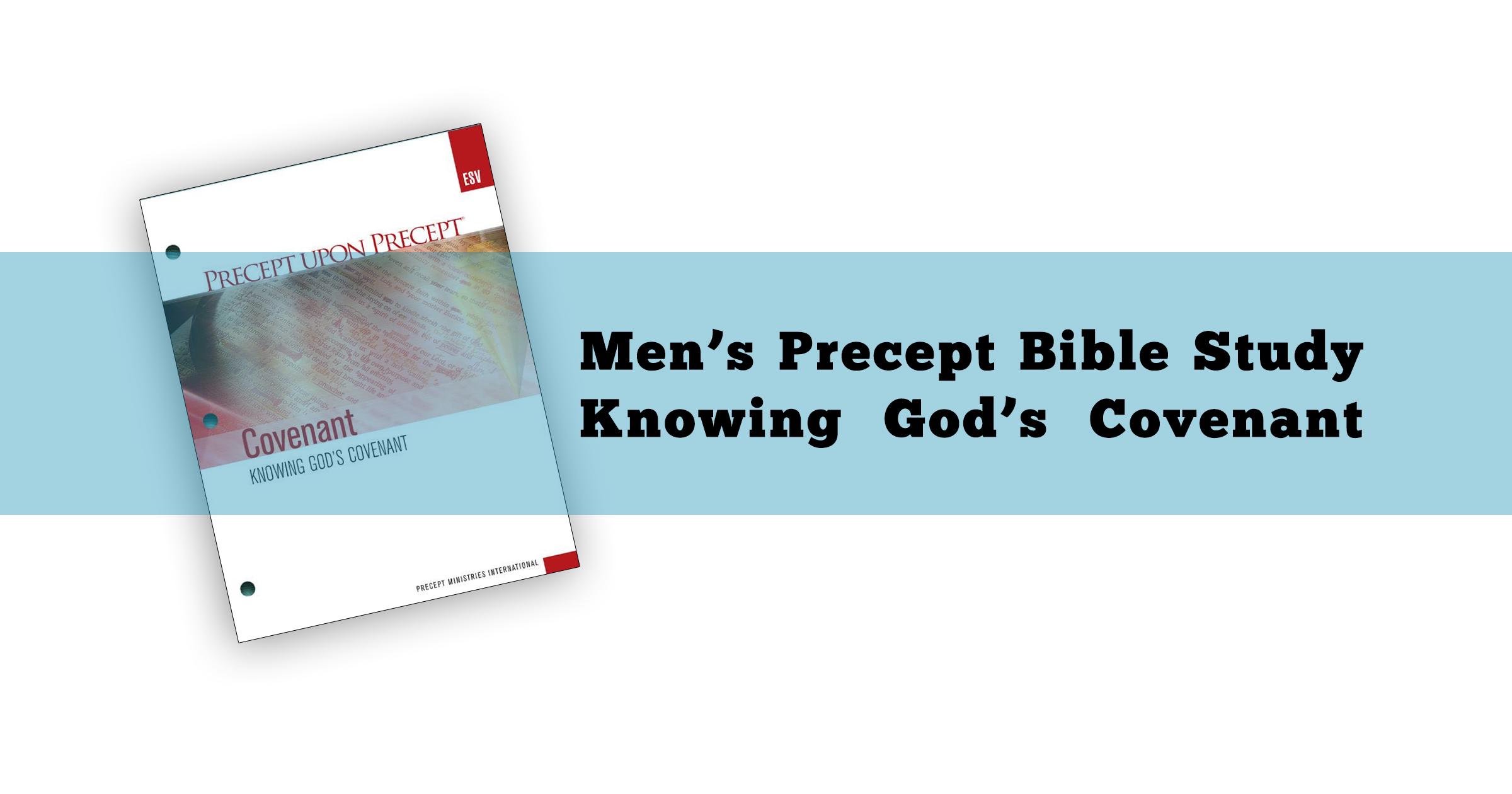 Men's Precept - Knowing God's Covenant - Carrickfergus
