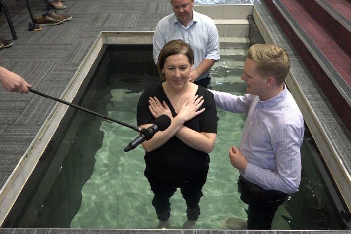 Alex Boyd Baptism